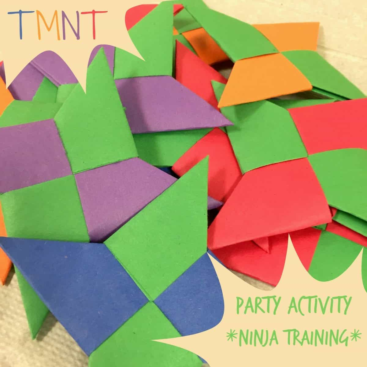 A Teenage Mutant Ninja Turtles Party Activity Enter The Hashi