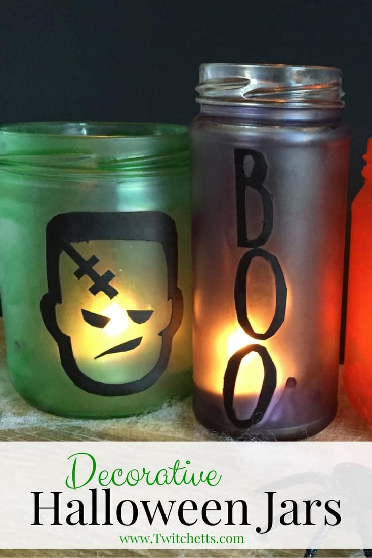 DIY Halloween Jars, by Twitchetts