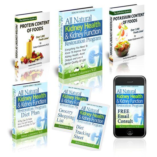 The All Natural Kidney Health & Kidney Function Restoration Program Bonuses