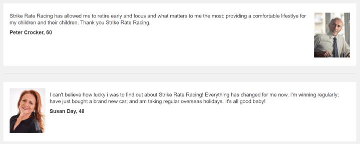 strike rate racing software