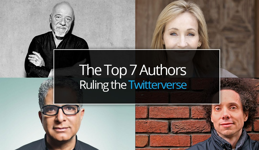 7 Authors Ruling the Twitterverse to Sell More Books in the Process