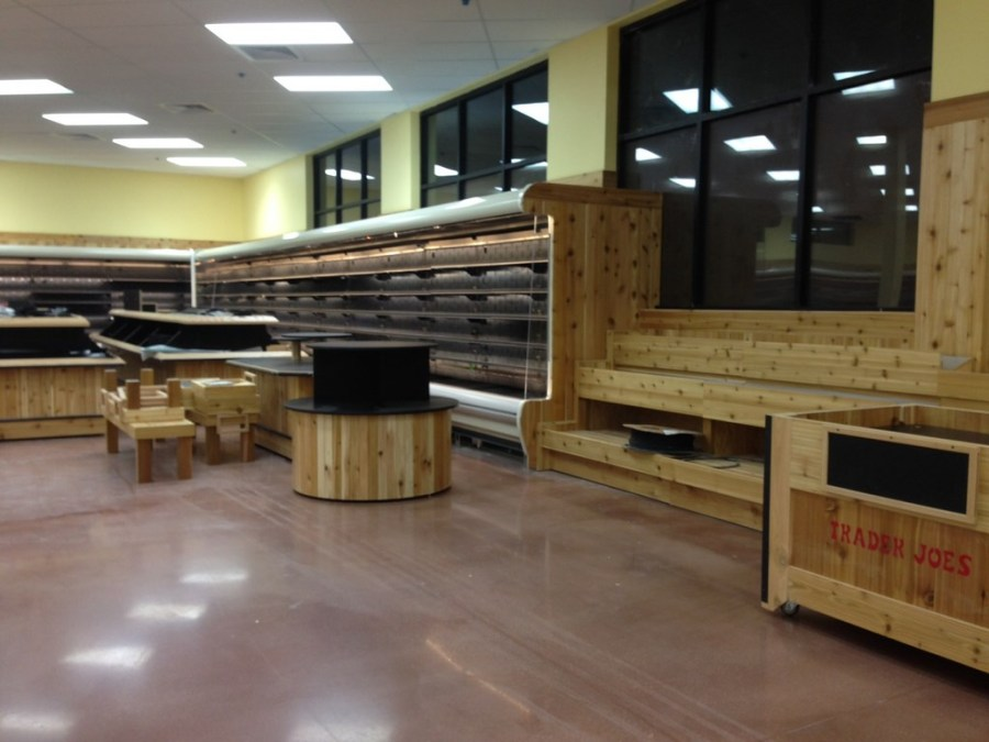 Traders Joe's Grocery Store Chain Final Post Construction Cleaning in Denver, Colorado