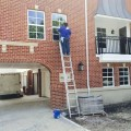 Town Homes Windows & Post Construction Cleaning Service in Highland Park, Texas