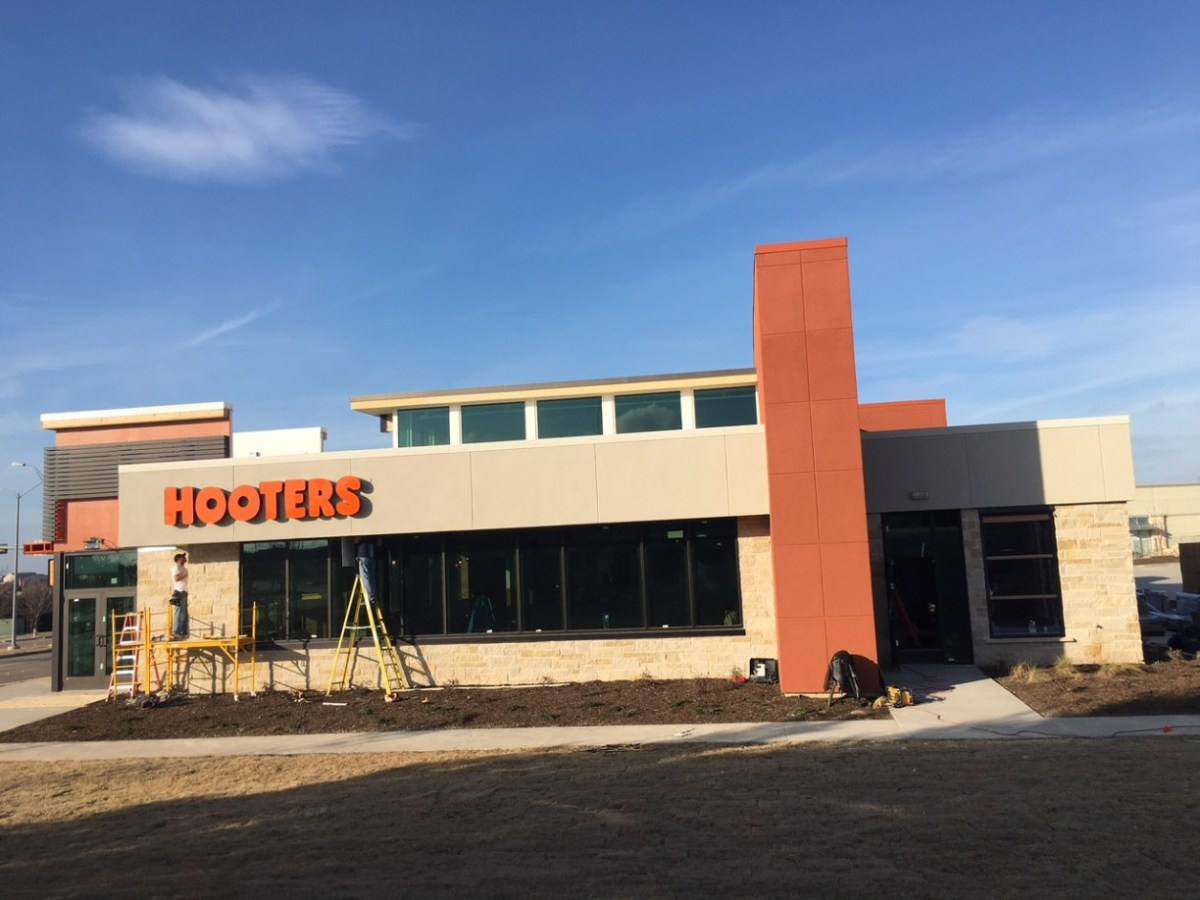 Hooters Restaurant Rough Post Construction Cleaning in Dallas, TX