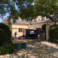 Large Corner Mansion Rough Post Construction Cleaning in Dallas, TX