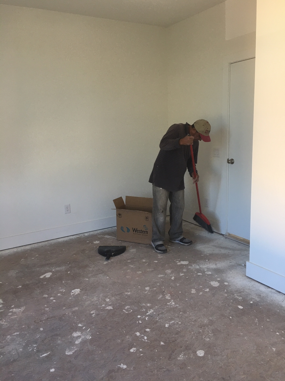 %name New Condominiums Rough Post Construction Clean Up Service in in Dallas, TX