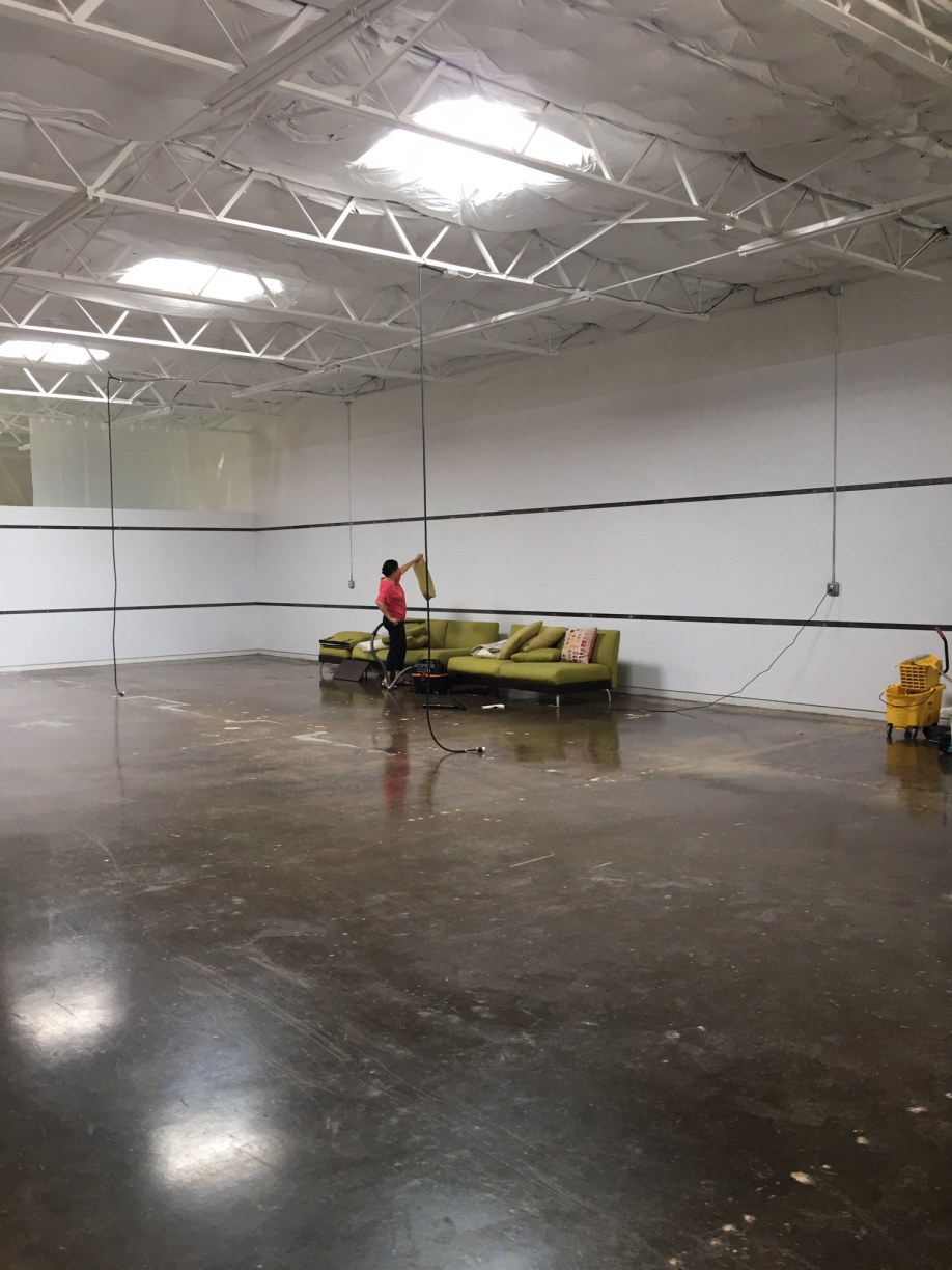 %name Warehouse Final Post Construction Clean Up in Dallas, TX