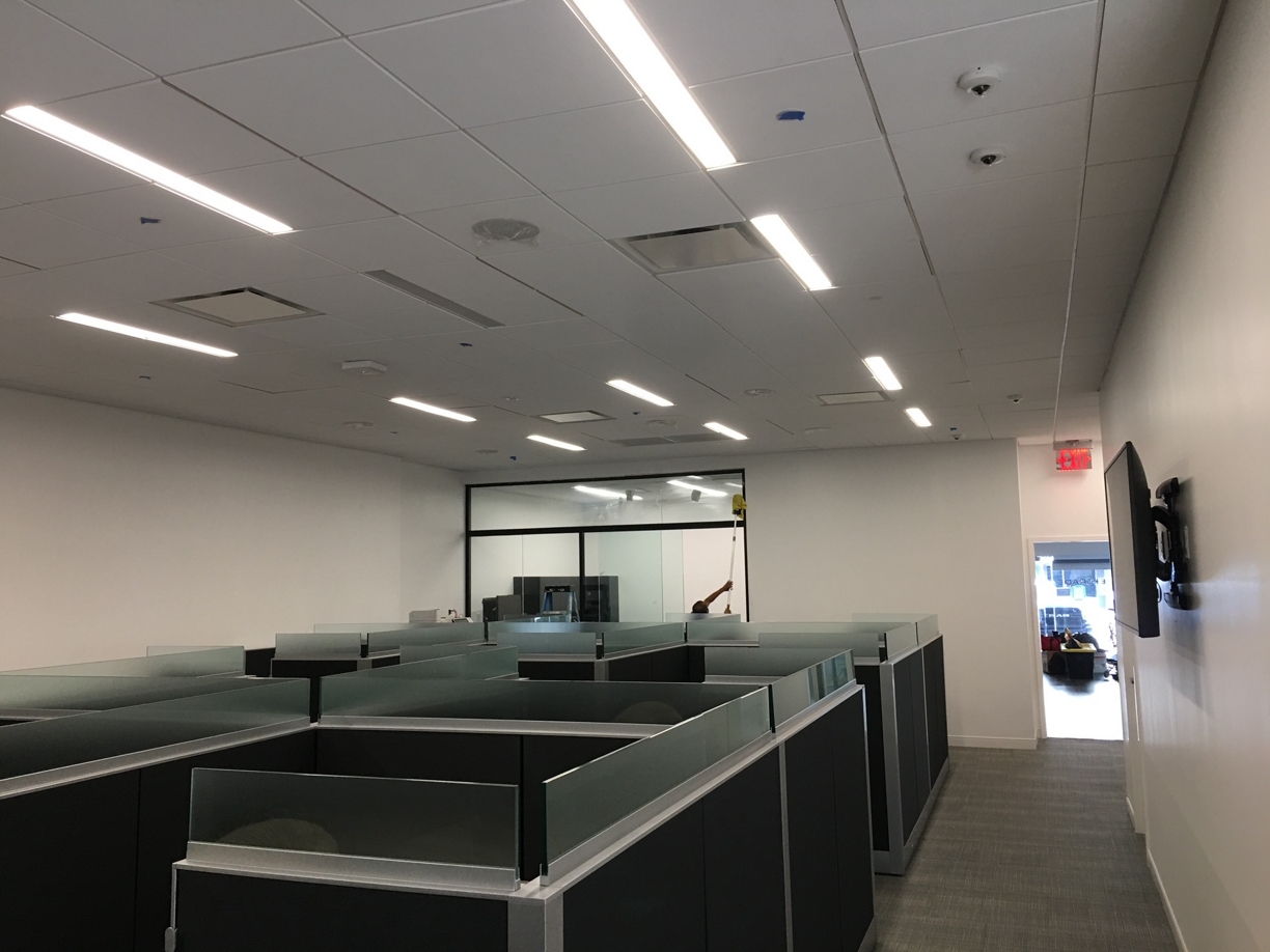 %name E Trade Offices Final Post Construction Cleaning in Dallas, TX