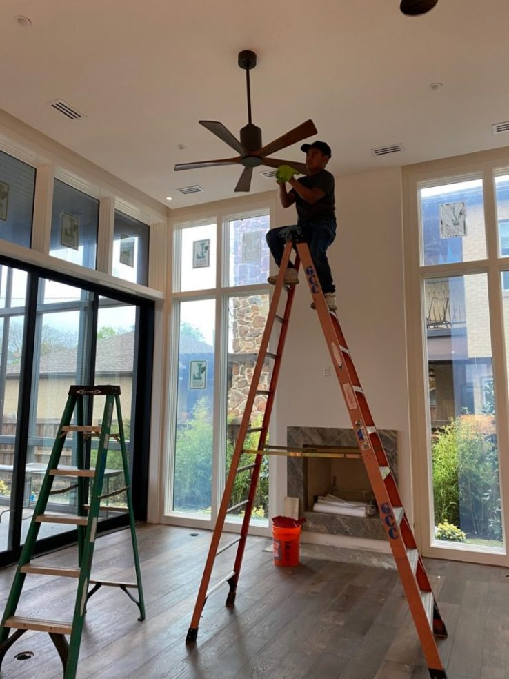 Very Nice Home Final Construction Clean Up in Dallas TX 00004 768x1024 Very Nice House Final Post Construction Cleaning in Dallas, TX