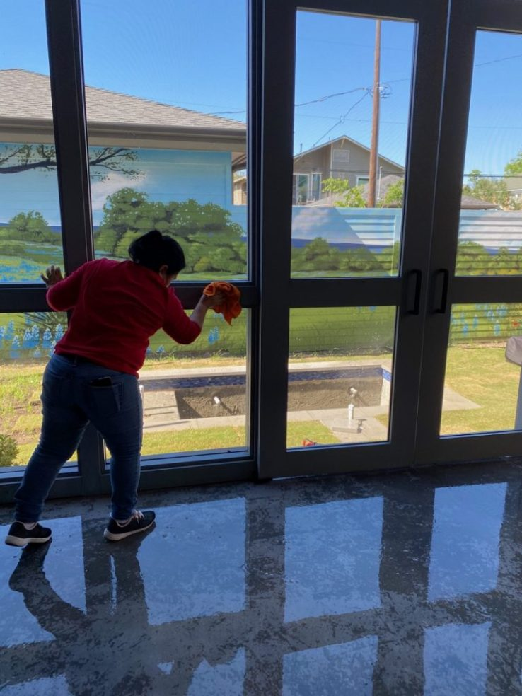 Very Nice Home Final Construction Clean Up in Dallas TX 00017 768x1024 Very Nice House Final Post Construction Cleaning in Dallas, TX