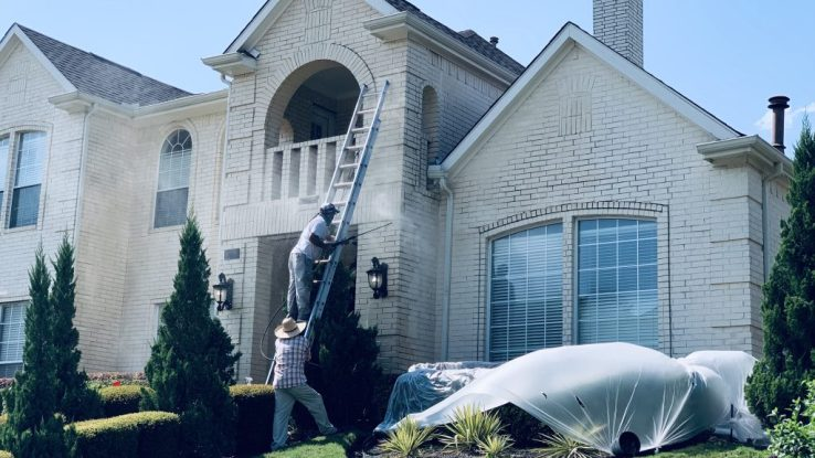 %name House Exterior Pressure Washer in Plano, TX