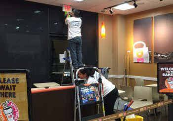 Dunkin Donuts Final Post Construction Cleaning 013 92bf9625978294ddcb43cbc093db2064 350x245 100 crop Dunkin Donuts Final Post Construction Cleaning