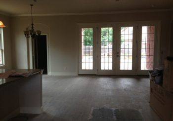 Post Construction Clean Up At A Beautiful House In Denton