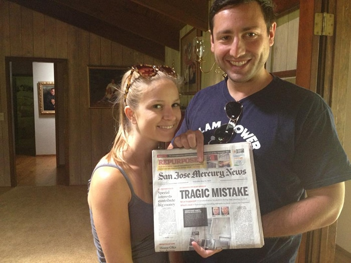 My Sister Just Got Married, She Asked Me To Save Her A Newspaper From Her Wedding Day
