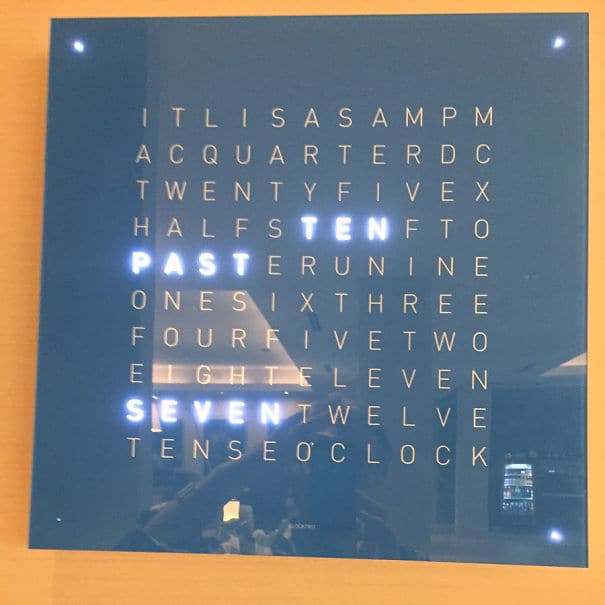 The Clock At The Hotel I
