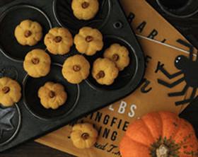 ハロウィン♪かぼちゃのクッキー