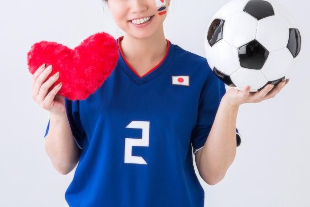 サッカー観戦の服装