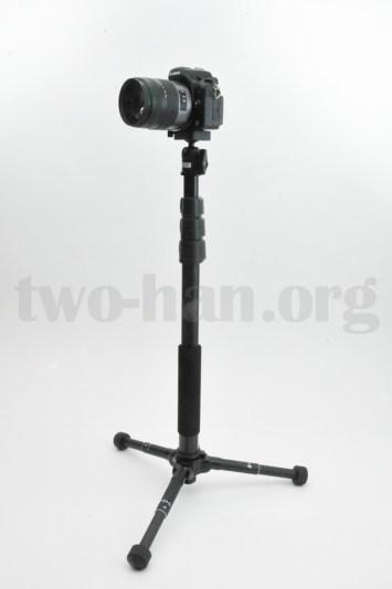 Velbon Pole Pod II/Panasonic GH2乗せ
