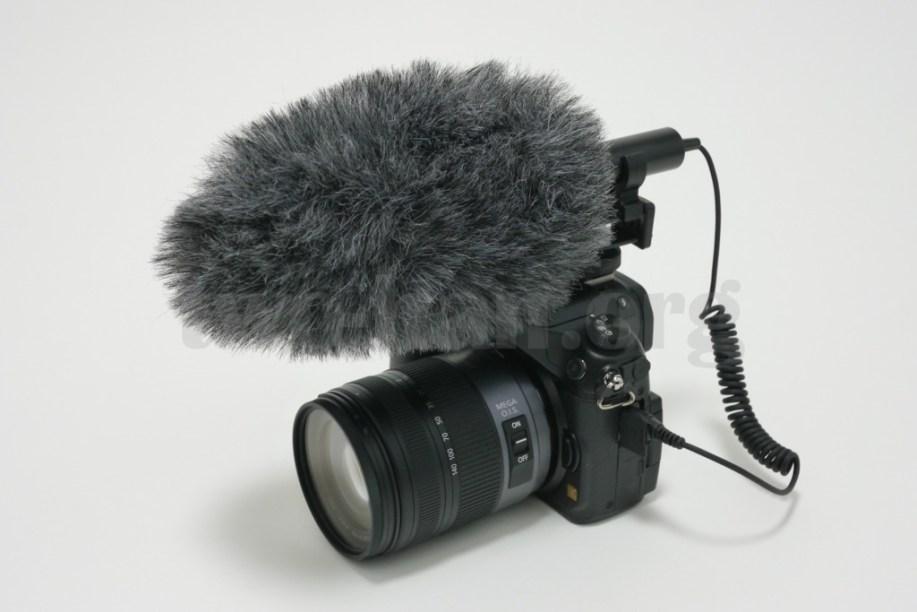 DMC-GH3とAZDEN・SMX-10。Rycote・Special90ジャマーを取り付けてみました!少しブカブカ...。(^_^;)