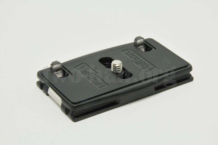 Velbon 自由雲台 クイックシュー装備 QHD-63Q/クイックシュー・シュープレート