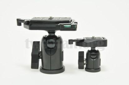 Velbon 自由雲台 クイックシュー装備 QHD-63QとQHD-33Q