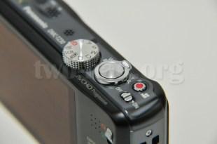 Panasonic LUMIX DMC-TZ30-K・電源スイッチ、動画ボタン、ズームリングなどなど