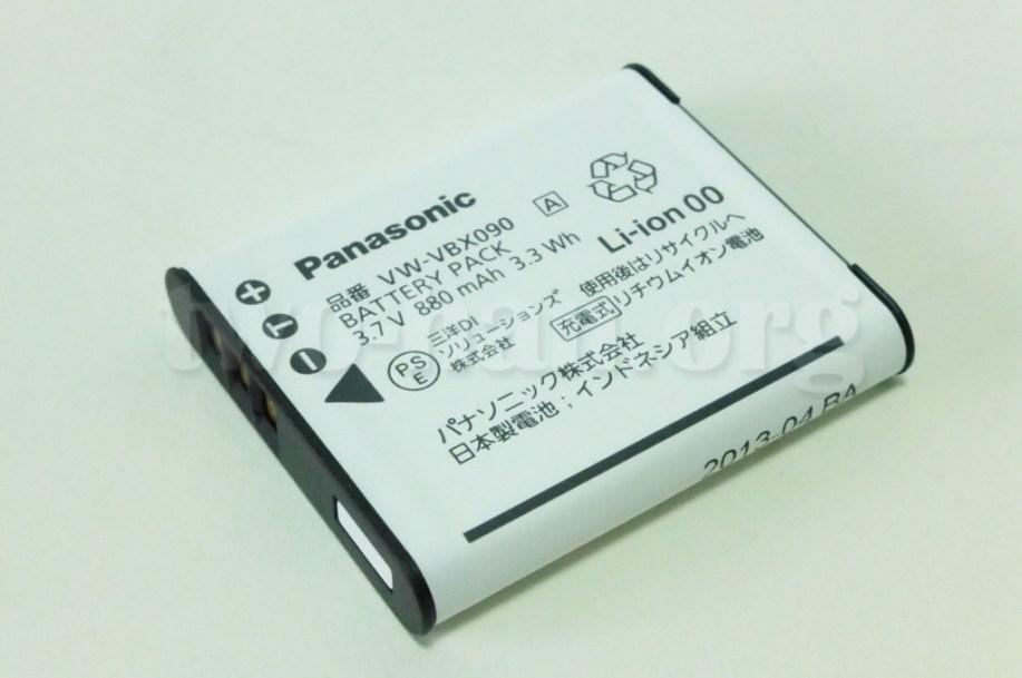 Panasonic HX-WA30・880mAh、ちっちゃ!