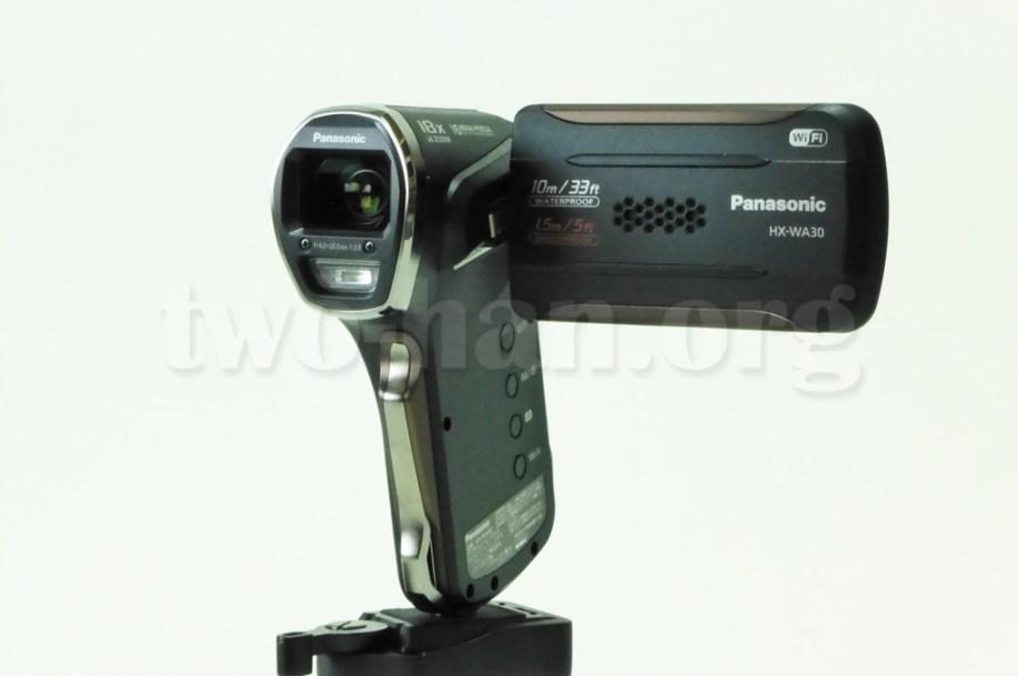 Panasonic HX-WA30・この角度がベスト!?