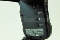 Panasonic HX-WA30・液晶を開けた本体側