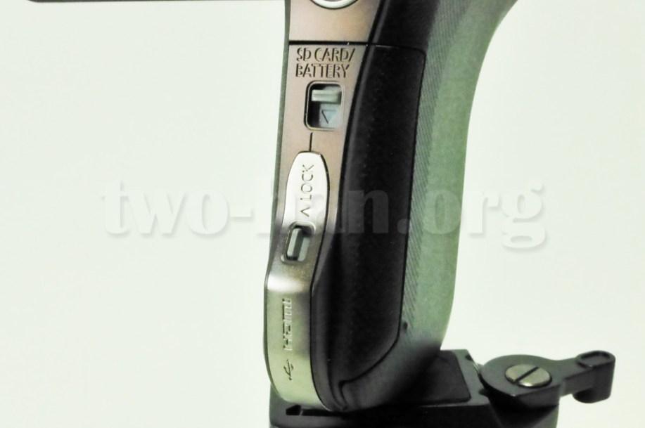 Panasonic HX-WA30・ロック!