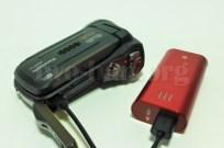 Panasonic HX-WA30・モバイルバッテリー給電!