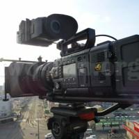 CineroidのEVF4RVWをCineAlta 4Kカメラ PMW-F55。EVF4RVWはカメラに負けてない?