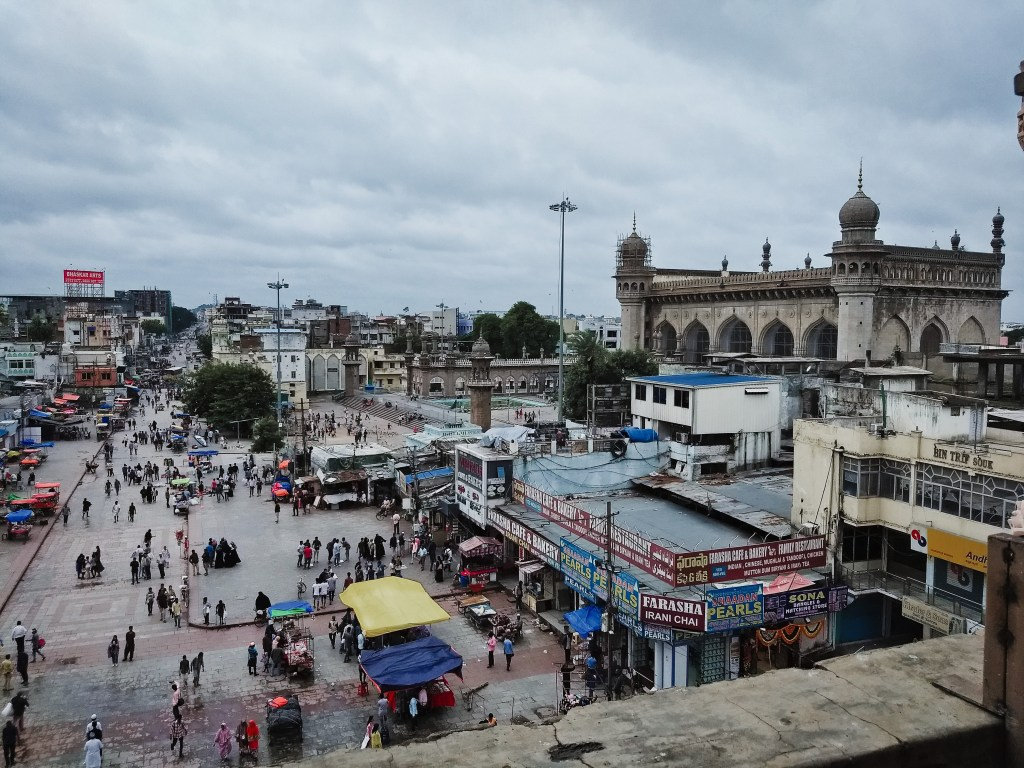 Mecca Masjid from the Charminar