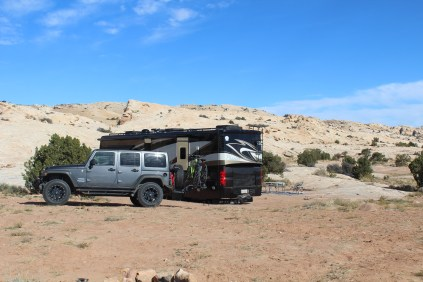 Our home out in the sticks near Goblin Valley St Pk.