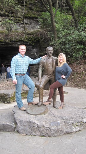 Chad and Crissy chummin' around with Jack...