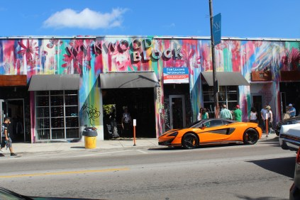 """The Wynwood art district. Too many """"beater"""" cars for our liking..."""