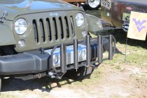 Fishing is HUGE here in the Keys. Some Jeepers really really really take their fishing seriously! Fish rod holders on the front bumper...