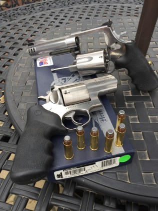 Here's the Ruger Alaskan in comparison to the 460.