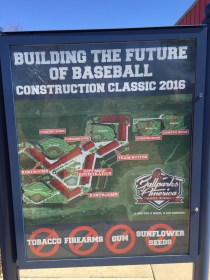 This should end up as an outstanding baseball venue for youth baseball clubs everywhere.
