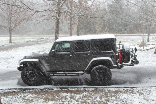 """""""Bring it on, Mother Nature! We fear you not, for we are Jeepers!"""""""