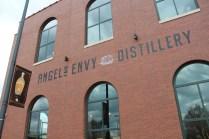 Angel's Envy Distillery, across the street from the Louisville Slugger Field.