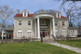 The home called Greystone, now part of the Beaumont Inn.