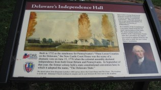 A little Delaware history lesson about Independence hall.