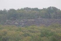 This is a look at Little Round Top from Devil's Den. This little hill played a major role in the battle.