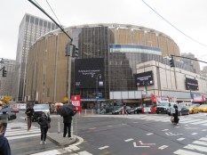 Madison Square Garden and Penn Station.