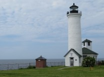 We found another lighthouse, this one in Cape Vincent, called Tibbett's Point Lighthouse.