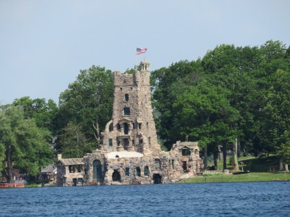 "Alster Tower of Boldt Castle. George built this I believe as an ""entertainment room"" for his guests."