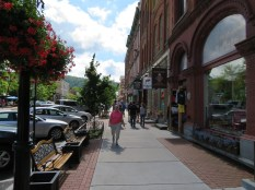 The main drag of Cooperstown.