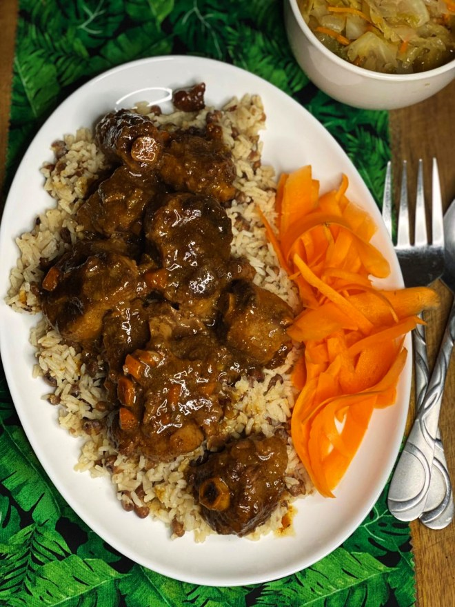 Southern Style Oxtails