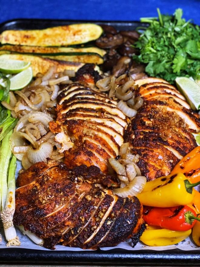 Achiote Grilled Chicken